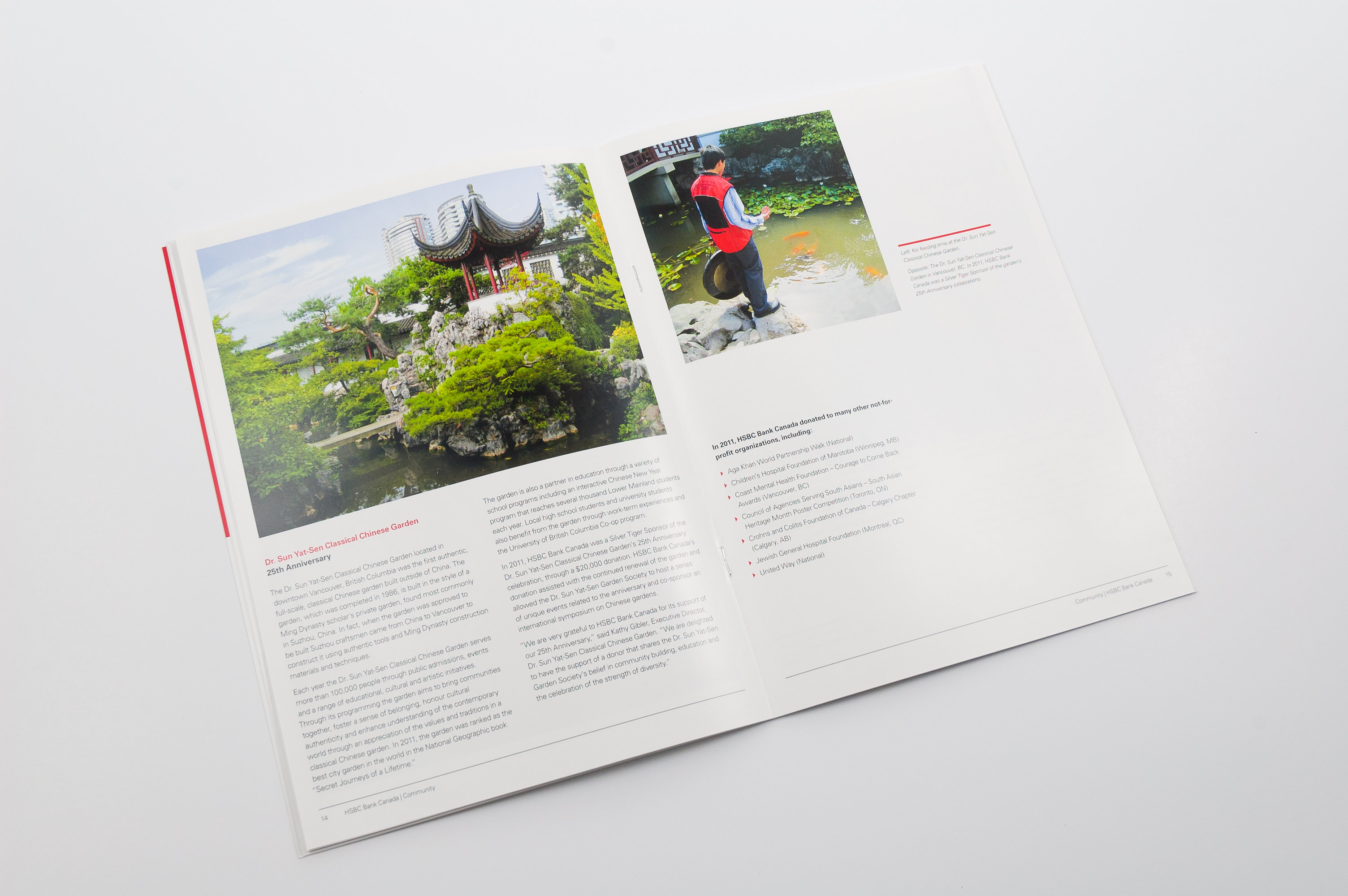HSBC Canada in the Community | Signals Design Group